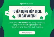 Đồng hành cùng doanh nghiệp tuyển dụng mùa dịch, TopCV triển khai GÓI ƯU ĐÃI VÔ ĐỊCH trong tháng 9